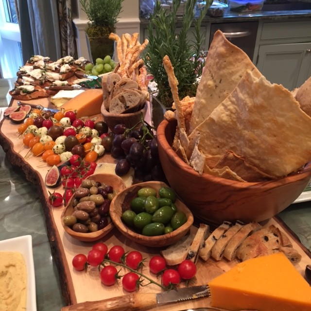 Canadian Cheese Boards Presentation Platter display