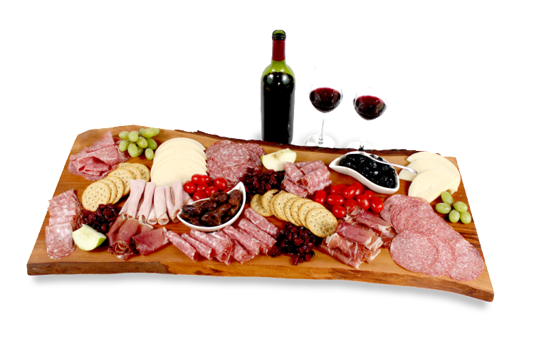 Presentation Platter with display food Canadian Cheese Boards