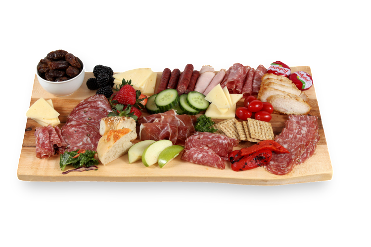 Medium Cheese Board with display food_Canadian Cheese Boards