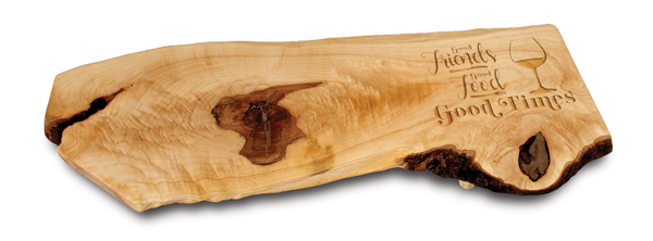 Engraved Canadian Cheese Board