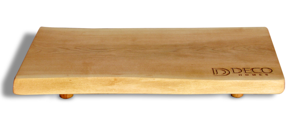 Photo of Canadian Cheese Board engraved for Deco Homes