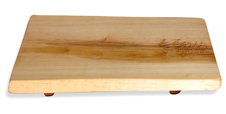 Photo of Canadian Cheese Board engraved for OPMA